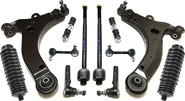 Amazon Com Partsw 12 Pc Rear Front Suspension Kit For Chevrolet