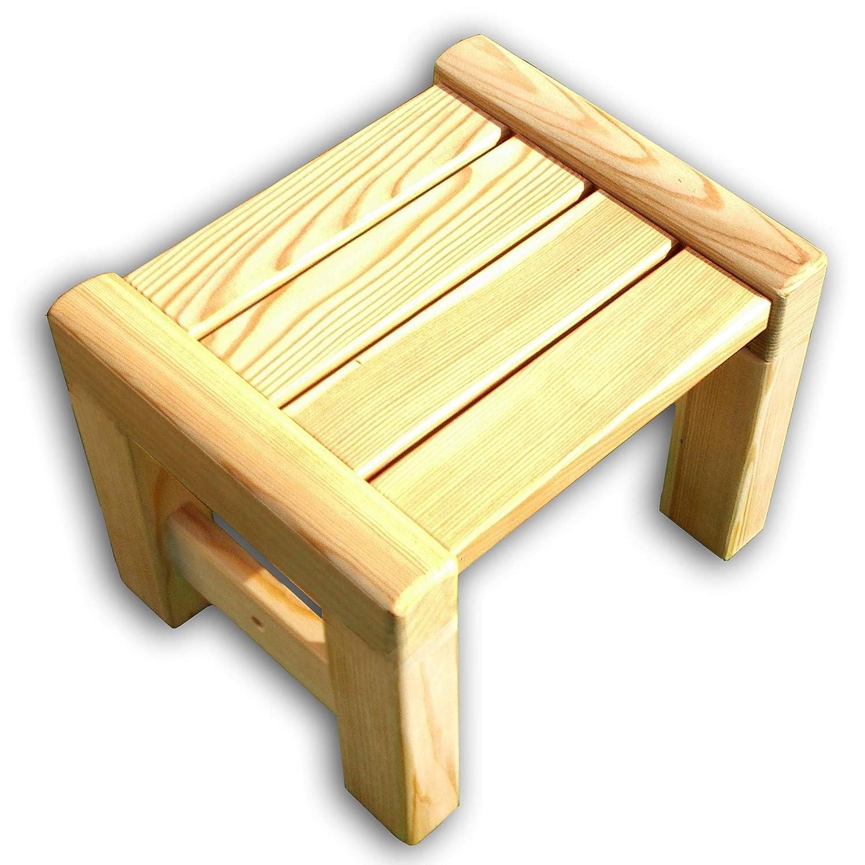 Gartenpirat Kinderhocker Sarina Sitzhocker Schemel aus Holz Lärche Premiumqualität GP1706