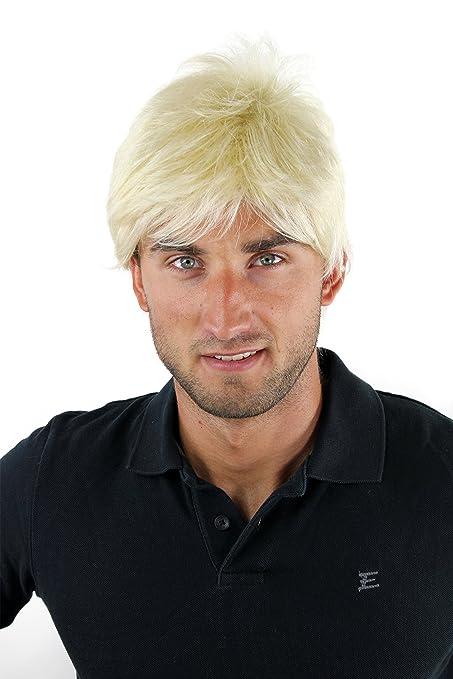 Wig Me Up Parrucca Uomo Corta Giovanile Disinvolta