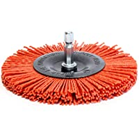 S&R Cepillo Circular de Nylon 100 mm AGRESIVO
