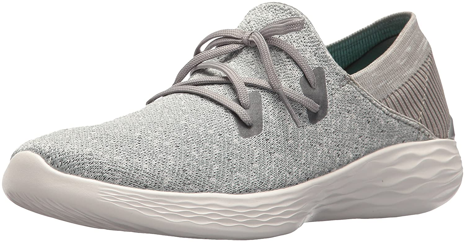 Skechers Women's You-14964 Sneaker B072MT3WNK 10 B(M) US|Gray