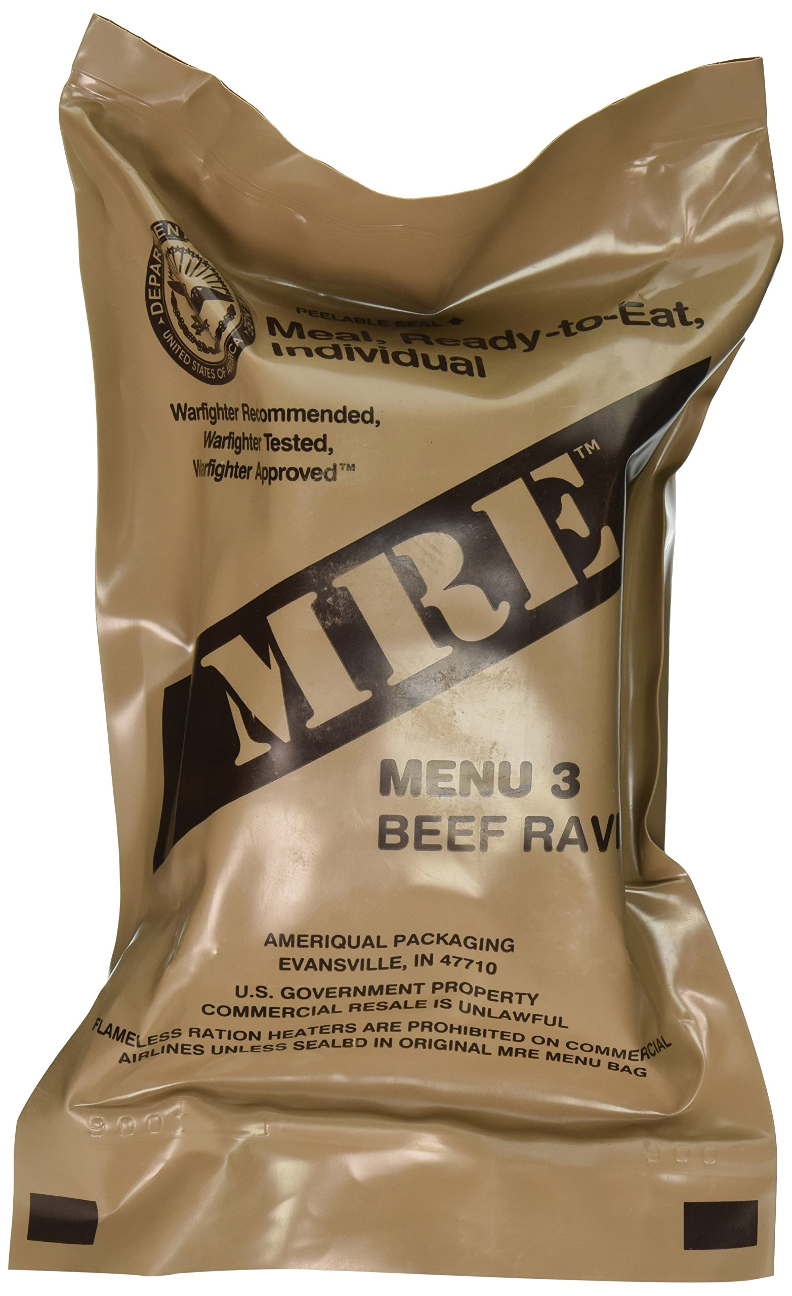 Amazon.com   Beef Ravioli MRE Meal - Genuine US Military Surplus Inspection  Date 2020 and Up   Grocery   Gourmet Food 2c996e7c80