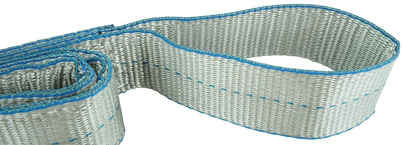 Eye /& Eye 5100 Choker Flo Guard 2 Ply USA Made 2 x 4 12800 Basket Load Capacity 2 x 4 Heavy Duty DD Sling Polyester Lifting Slings 6400 lbs Vertical