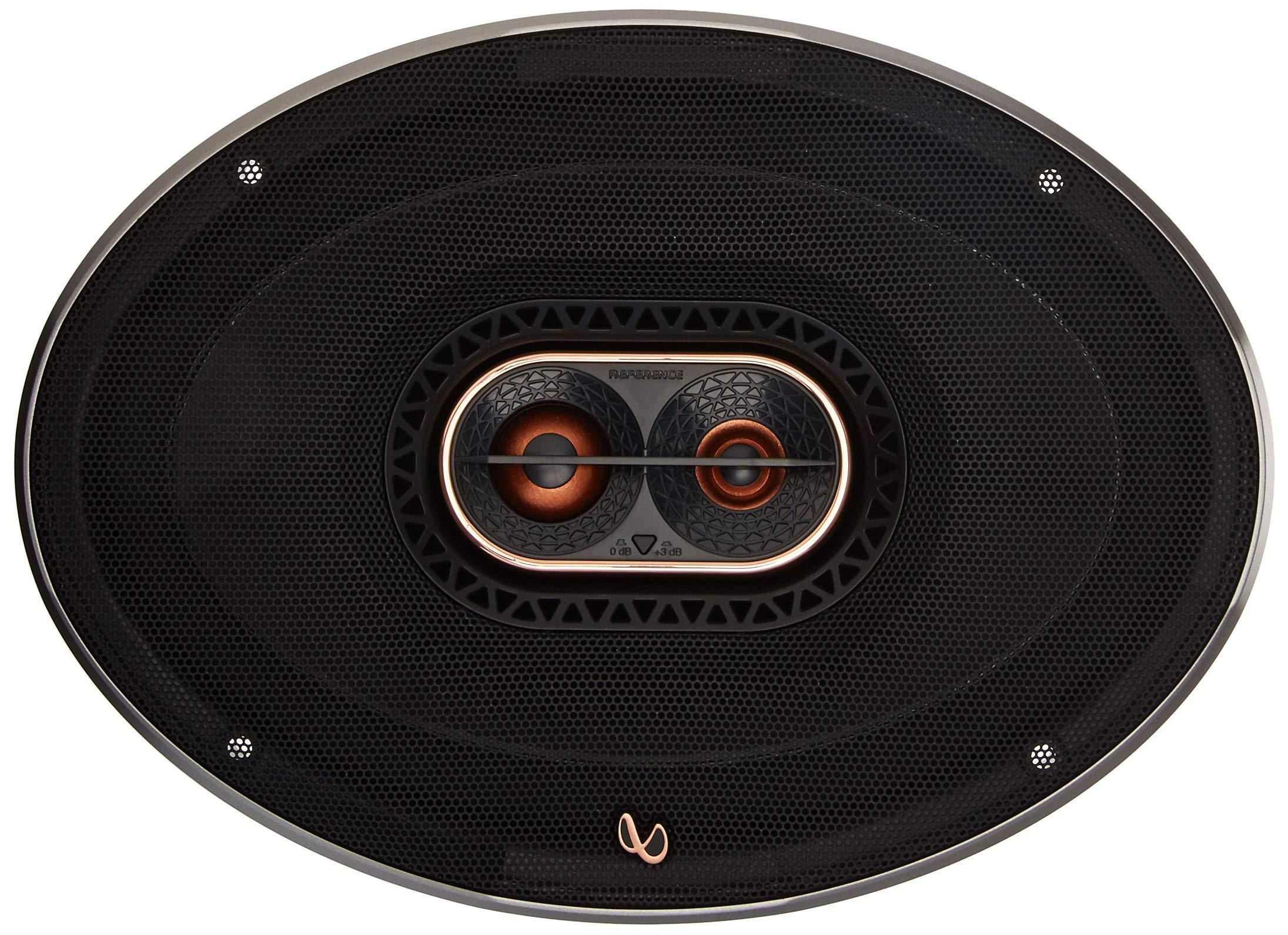 Infinity REF-9623ix 300W Max 6'' x 9'' 3-Way Car Audio Speaker with Edge-Driven, Textile Tweeters