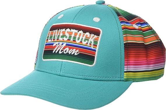 76e77efa1 Amazon.com: ARIAT Women's Livestock Mom Snapback Cap Turquoise ...