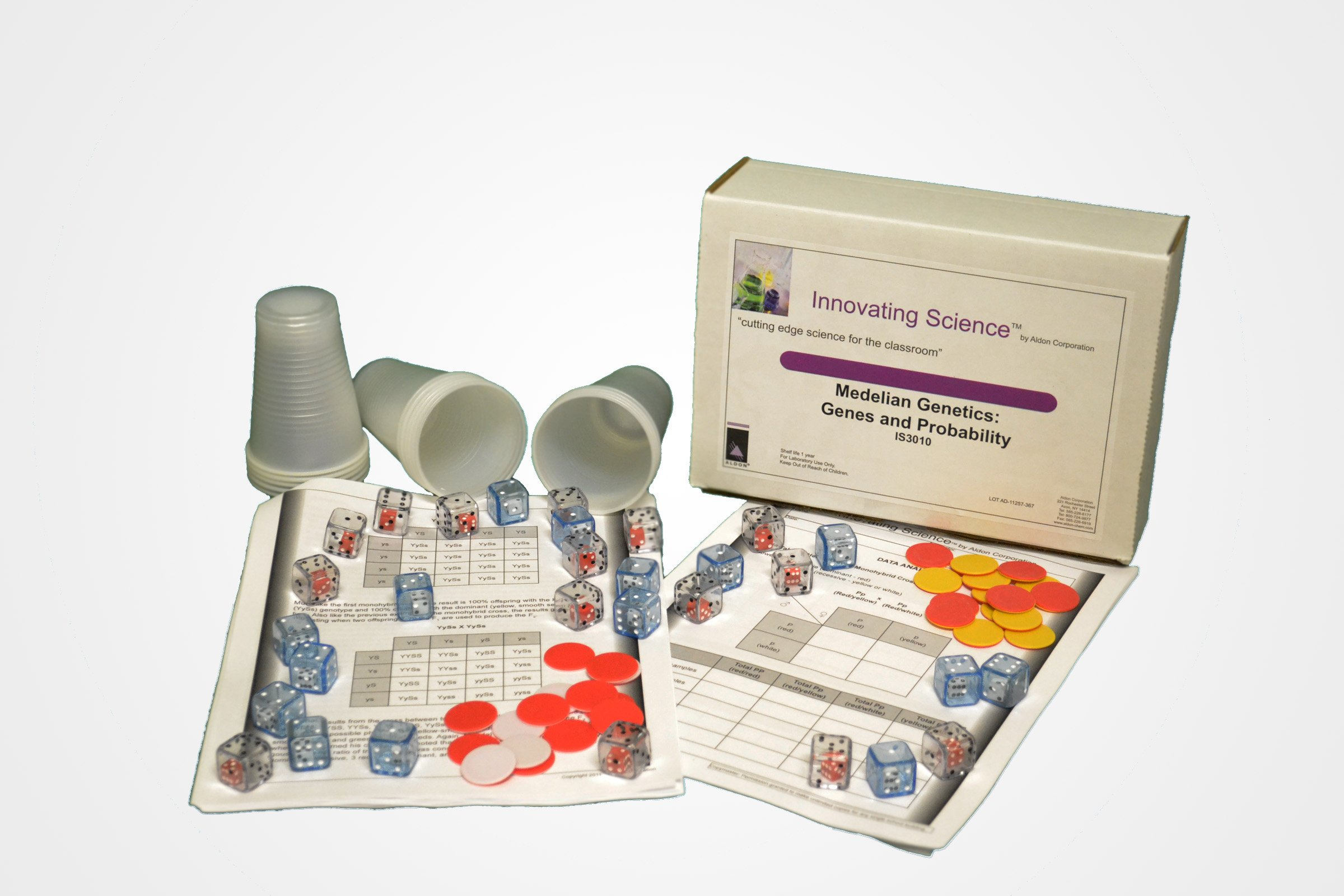 Innovating Science Introduction to Mendelian Genetics Kit by Innovating Science