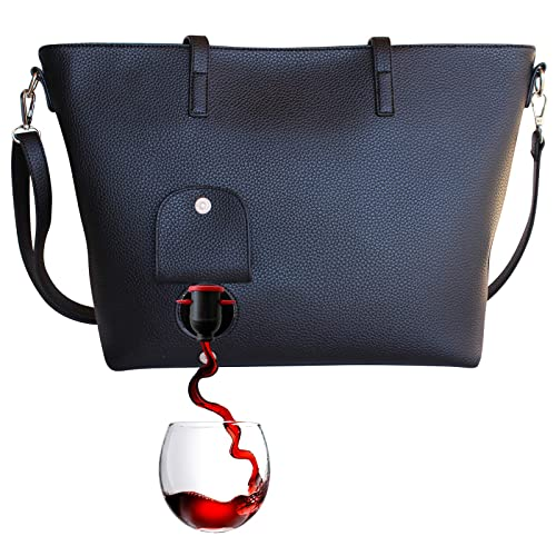 PortoVino Wine Purse (Obsidian) - ¡Monedero de moda con ...