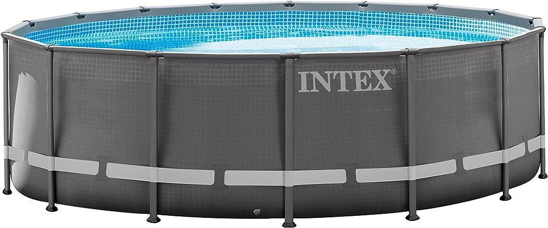 Amazon.com: Juego de pileta Intex de 16 ft x 48 ft, con ...