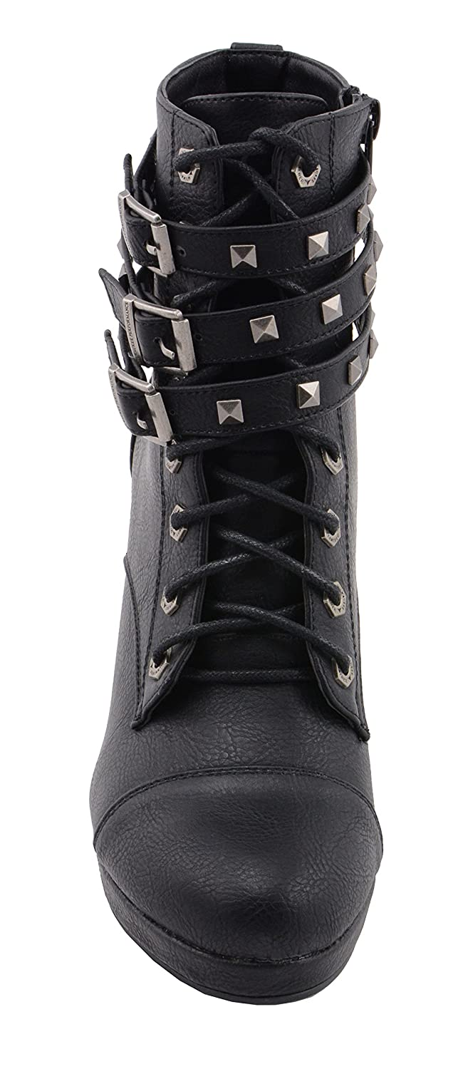 Black, 10 Milwaukee Performance Womens Lace to Toe Boot