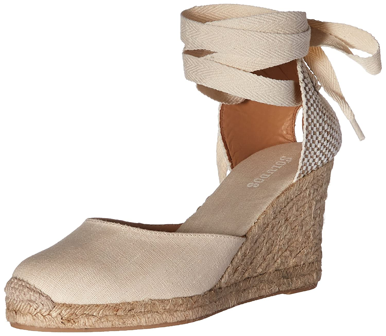 Soludos Women's Tall (90mm) Wedge Sandal B01M8PTWJN 11 B(M) US|Blush
