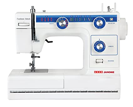 Usha janome fashion stitch automatic 80 watt zig zag sewing machine usha janome fashion stitch automatic 80 watt zig zag sewing machine white and fandeluxe Image collections