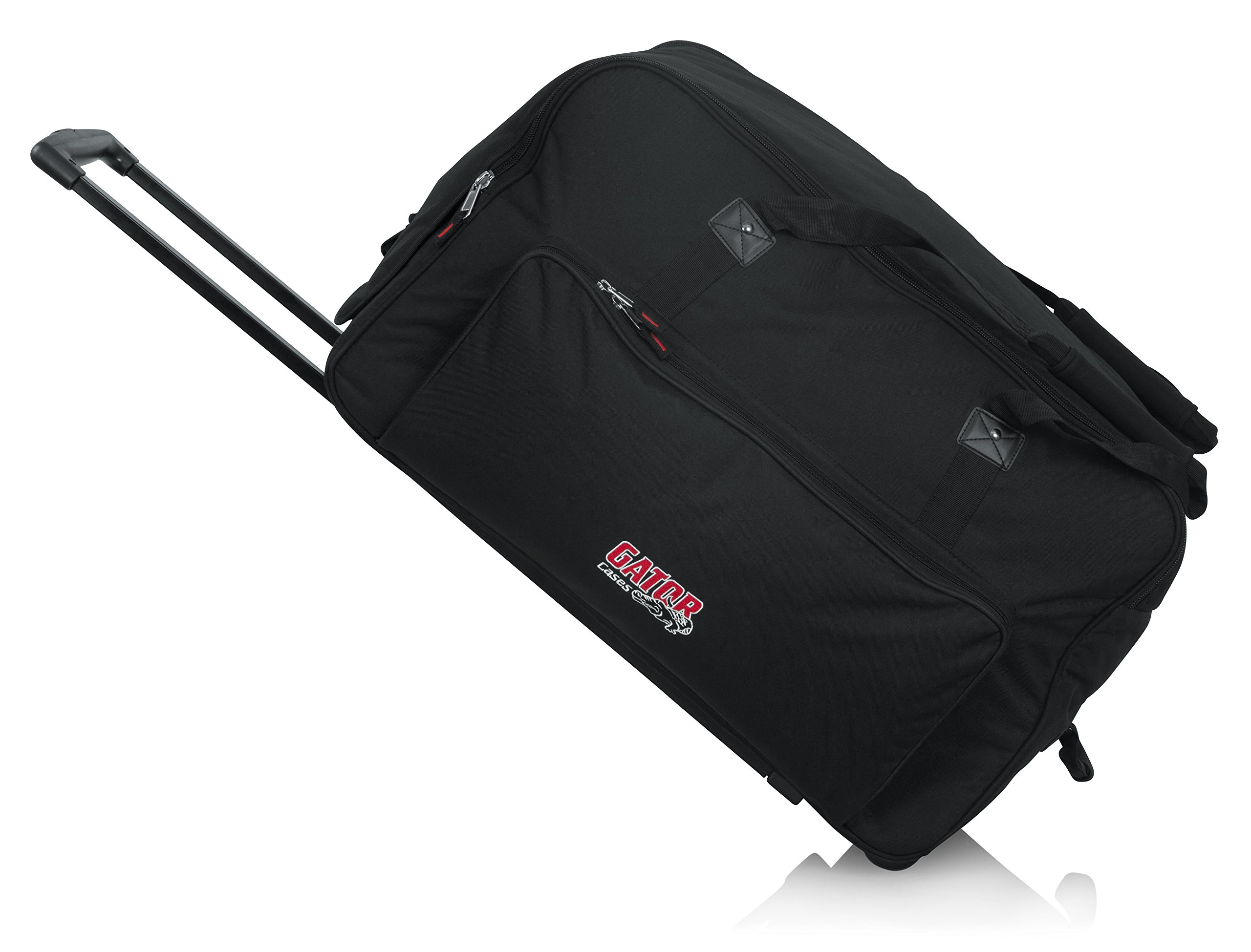 Gator Cases Rolling Speaker Bag for Large Format 12'' Loudspeakers with Retractable Pull Handle (GPA-712LG)