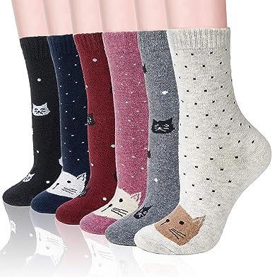 Fruit Design Socks Women Cotton Socks Soft Casual Socks Autumn Winter Warm Sock