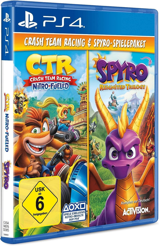 Spyro Reignited Trilogy + Crash Team Racing Nitro Fueled Bundle ...