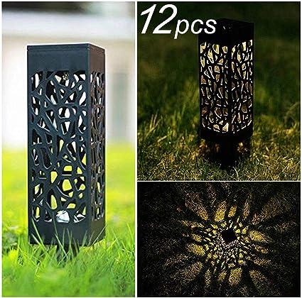 Amazon.com: Fly Partner - Luces solares para jardín al aire ...