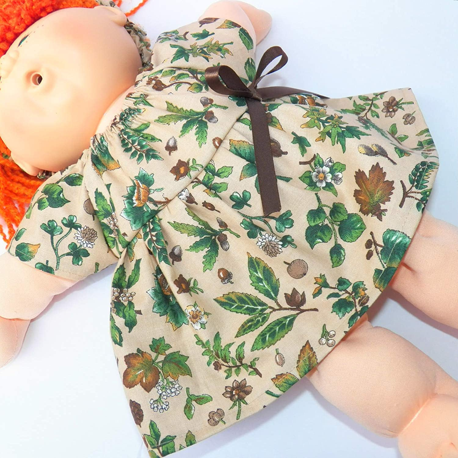 Cabbage Patch KIDS 16 inch Doll Clothes Fall Autumn Dress and Headband Clothes Only