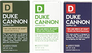 product image for Duke Cannon Supply Co. - Big Ass Brick of Soap Variety Gift Set (3 Pack of 10 oz) Superior Grade Bar Soap Designed for Hardworking Men