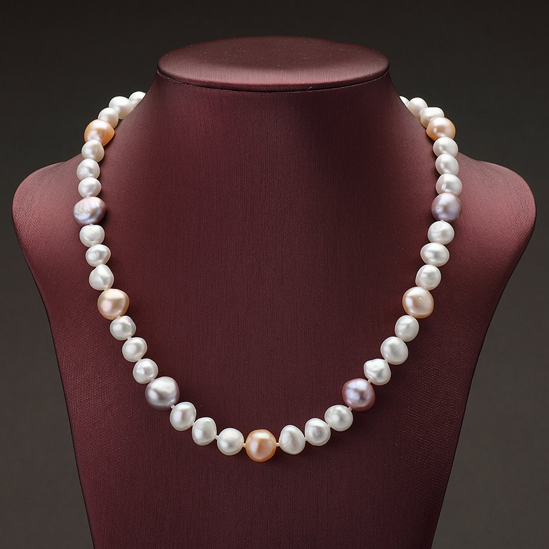 MMC Womens Necklaces Pearl Trendy Style Bijoux Bridel Pendants
