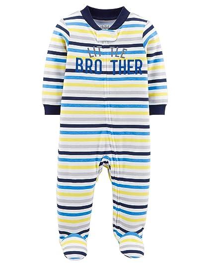 211e92c799b9 Amazon.com  Child of Mine Carters Preemie Baby Boy Pajamas Sleepers ...