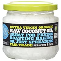 Lucy Bee Extra Virgin Fair Trade Organic Raw Coconut Oil 300ml (Pack of 3)