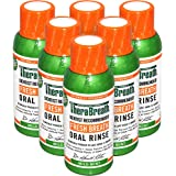 TheraBreath Dentist Recommended Fresh Breath Oral Rinse, Mild Mint Flavor, 3 Ounce Trial and Travel Size (Pack of 6)