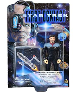 Barbie Star Trek-First Contact-Commander William T. Riker-First Officer,