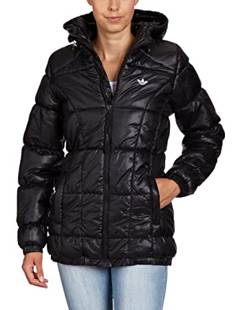 2db9895ad5f6e adidas Damen Winterjacke AC Long Padded - Solids, black, 36, O58622 ...