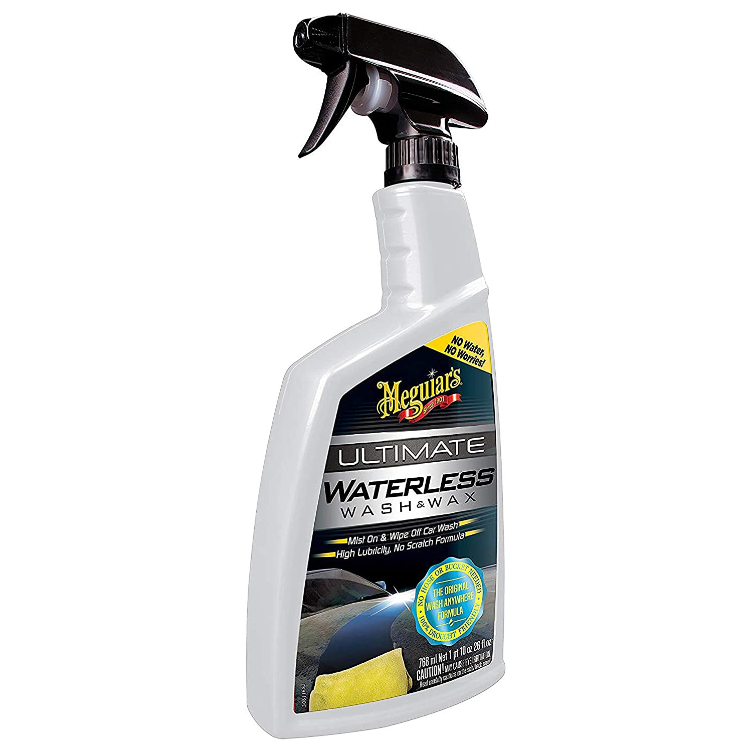 Meguiar's Ultimate Waterless Wash and Wax}