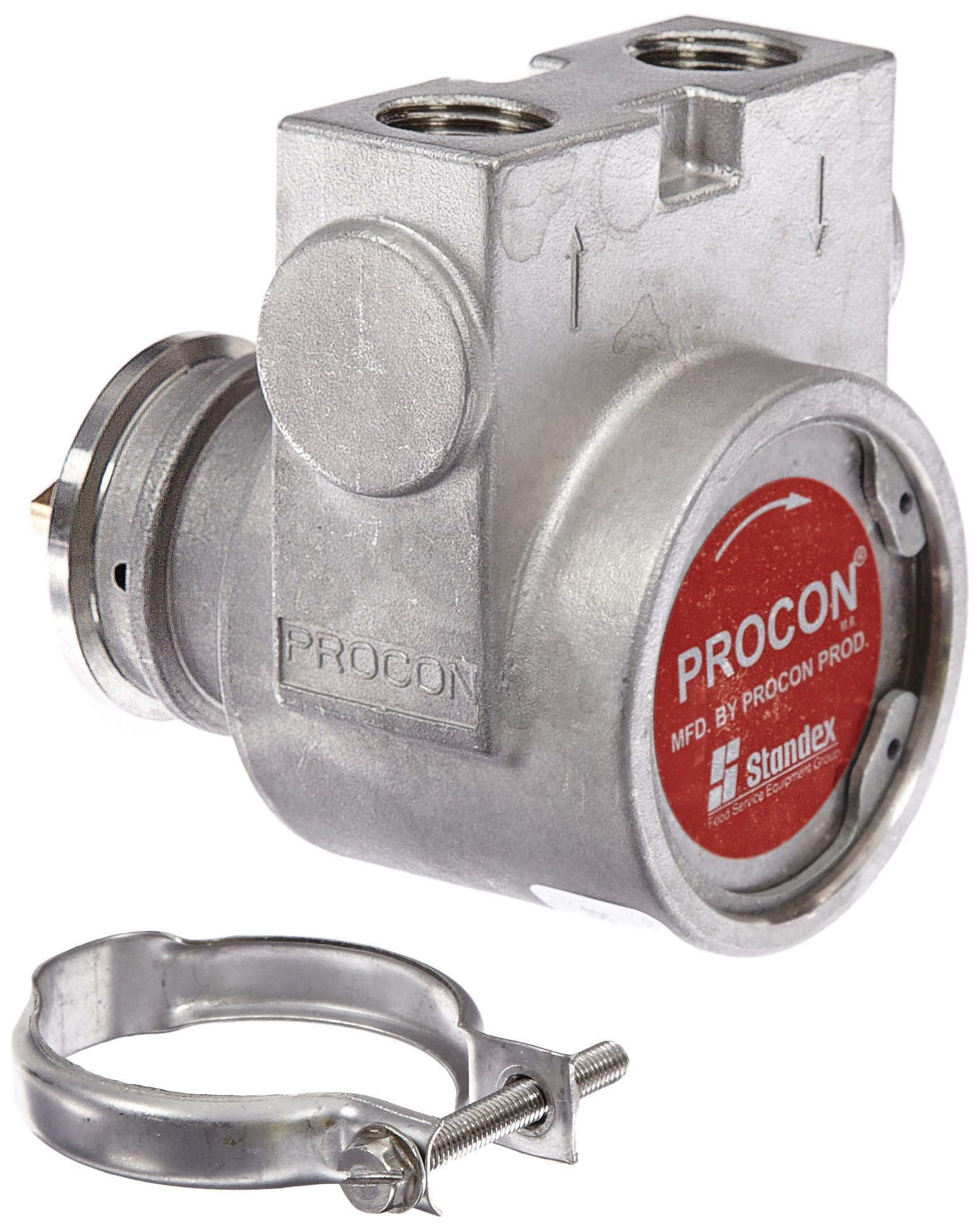 Procon 115B330F31XX Stainless Steel Rotary Vane Pump, 1/2'' NPTF, 346 GPH