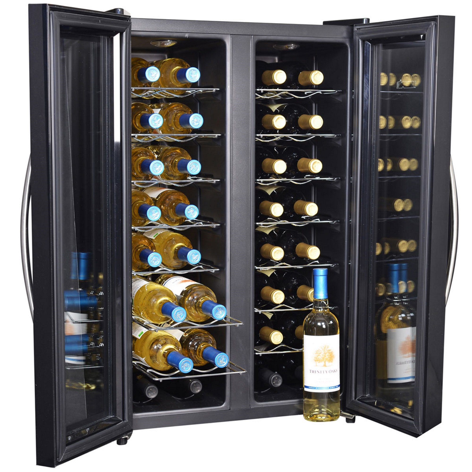 NewAir AW-320ED 32-Bottle Dual Zone Thermoelectric Wine Cooler by NewAir (Image #4)