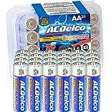 ACDelco 24-Count AA Batteries, Maximum Power Super Alkaline Battery, 10-Year Shelf Life, Recloseable Packaging