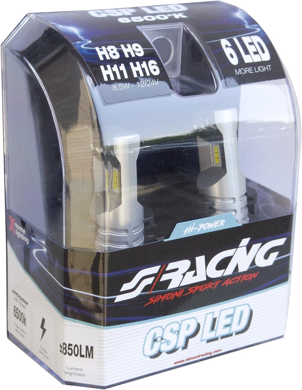 Simoni Racing CSP11 kit 2 led lamps H11