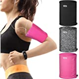 3 Pieces Phone Armband Running Armband Phone Sleeve for Running Arm Bands for Cell Phone Running Phone Holder Arm Bands for R