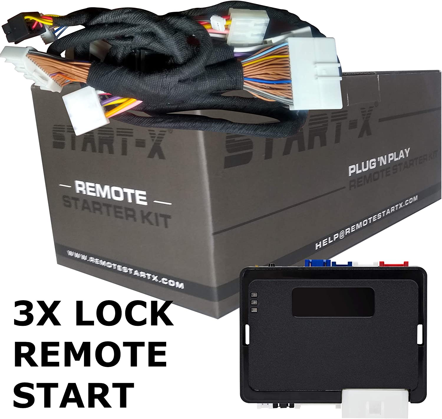 Start-X Remote Starter for Nissan Frontier 2008-2019 10 Minute Install 3X Lock Remote Start Plug N Play