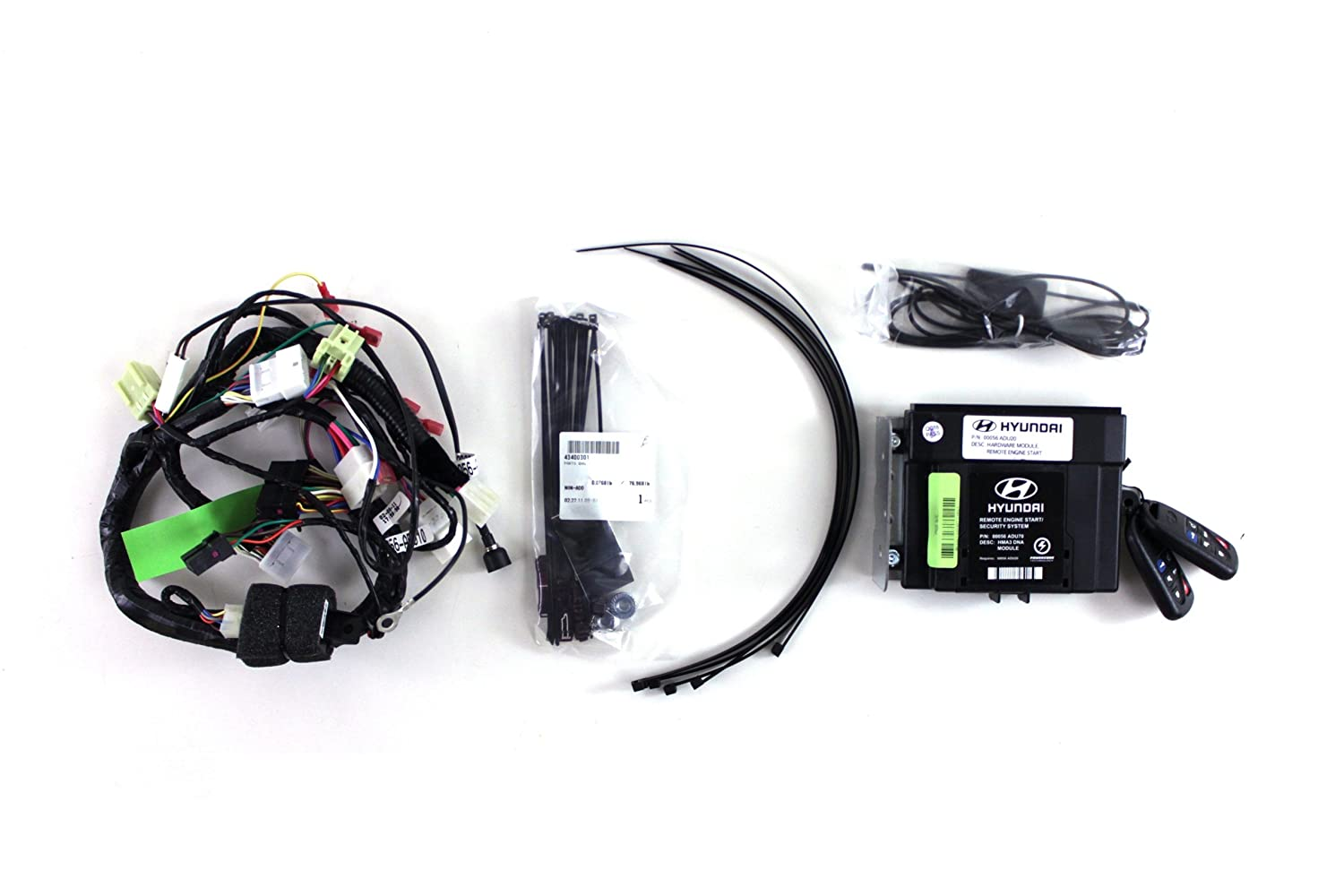 Genuine Hyundai Accessories 3s056 Adu00 Remote Start Kit Electrical Wiring For Sonata Automotive