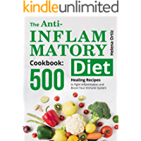 The Anti-Inflammatory Cookbook: 500 Healing Recipes to Fight Inflammation and Boost Your Immune System book cover