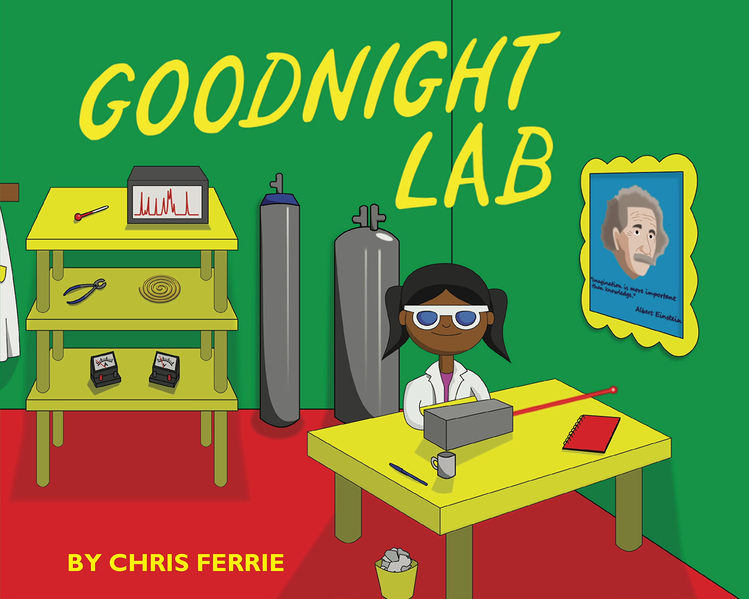 Goodnight lab a scientific parody baby university chris ferrie goodnight lab a scientific parody baby university chris ferrie 9781492656173 amazon books altavistaventures Images