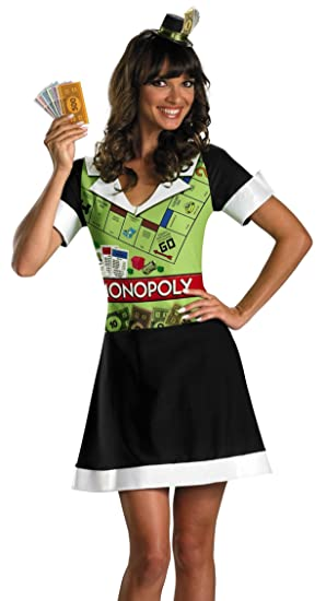 y womens monopoly dress halloween costume co uk