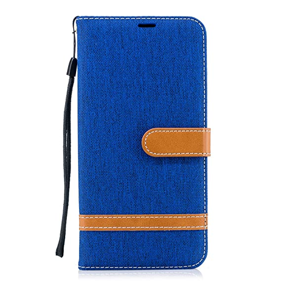 official photos 2b612 2abe0 Amazon.com: Best for Galaxy A8/A8 Plus 2018 Protective Wallet Cover ...