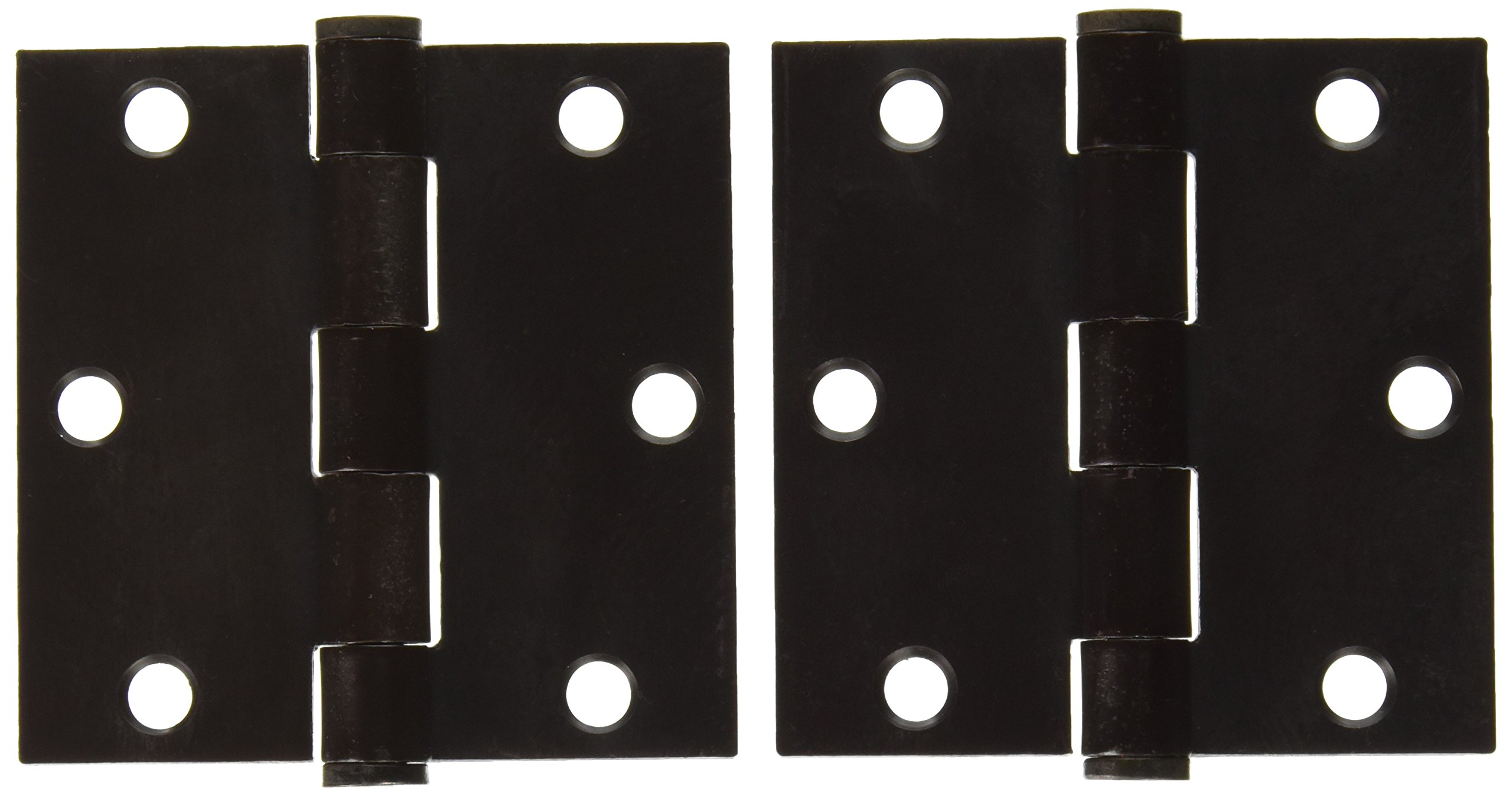 Deltana S35HD10B HD Value Choice for Indoor Applications Steel 3 1/2-Inch x 3 1/2-Inch Square Hinge