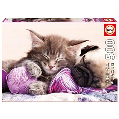 Educa 500 Pc Dream Companions Puzzle: Toys & Games