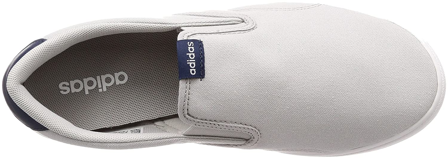 65a9315e0896 adidas Men s Vs Set Slip-on Tennis Shoes  Amazon.co.uk  Shoes   Bags