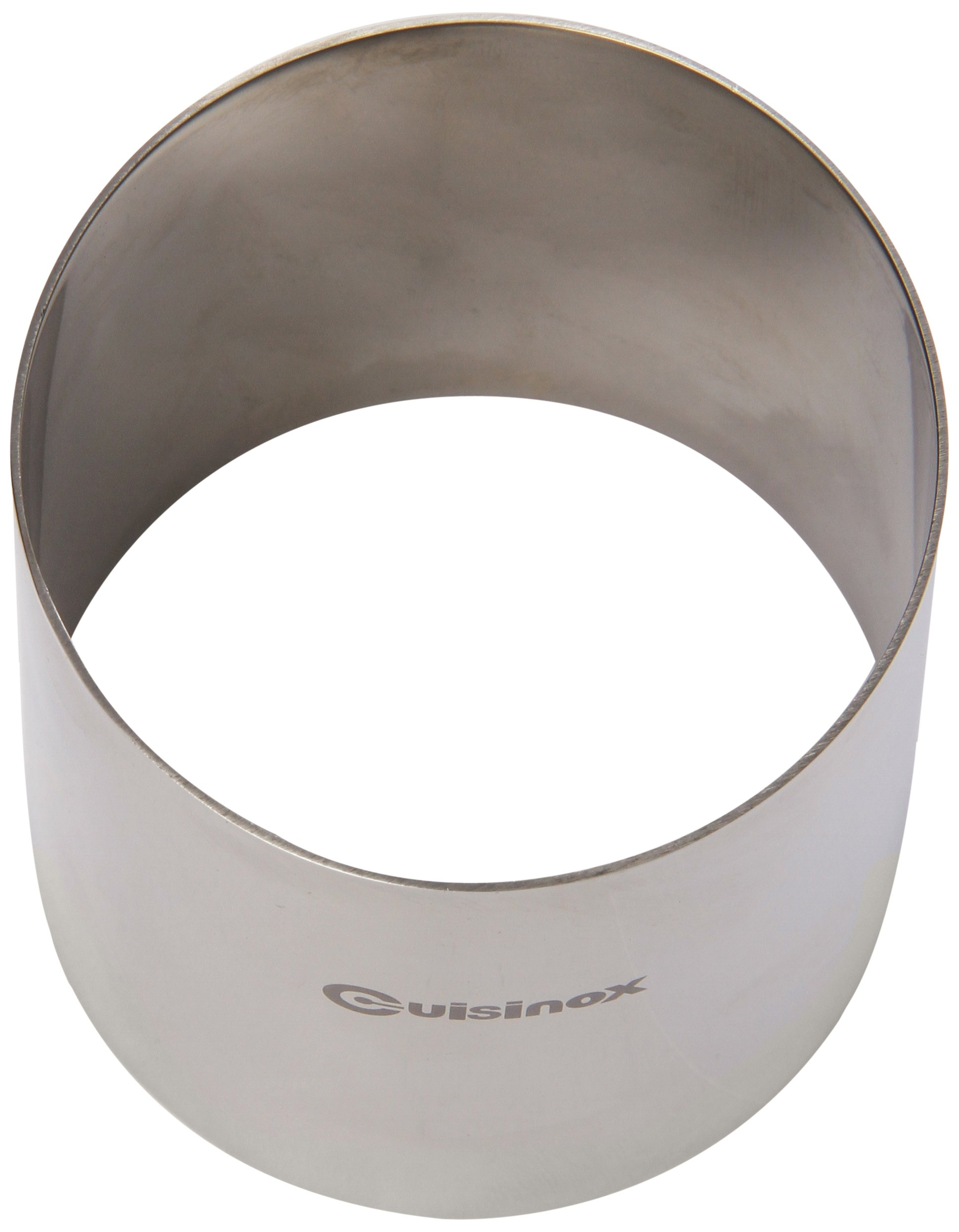 Cuisinox RNG-7075 Pastry Ring/Food Stacker, 70mm Diameter by 75mm Height, Stainless Steel