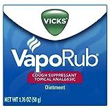 Vicks VapoRub Soothing Chest Rub Cough