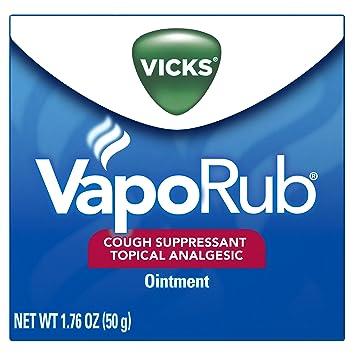 Vicks vapor rub overdose