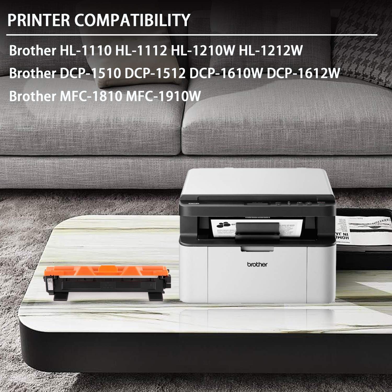 Gootior TN-1050 TN1050 Cartuchos de Tóner, 2 Negro Compatible para ...