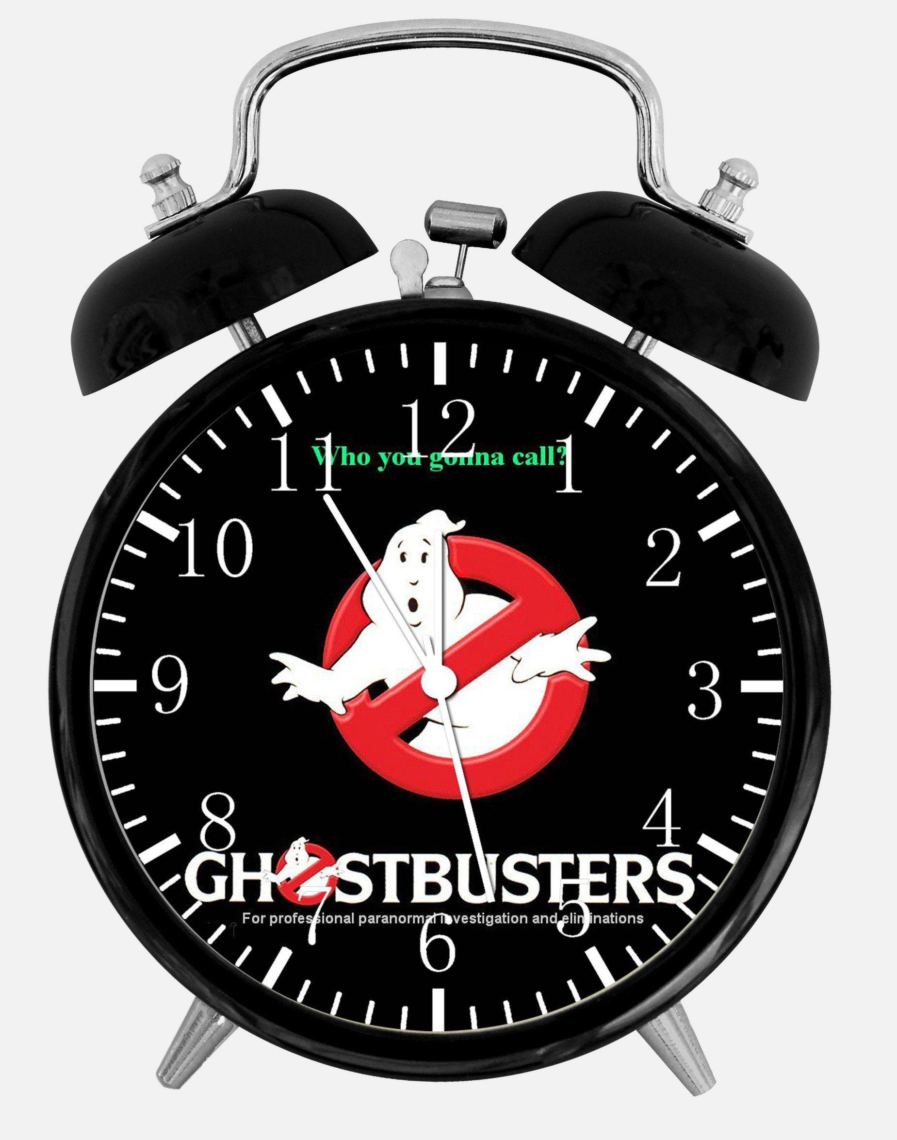 Ghostbusters Alarm Desk Clock 3.75'' Room Decor X47 Will Be a Nice Gift