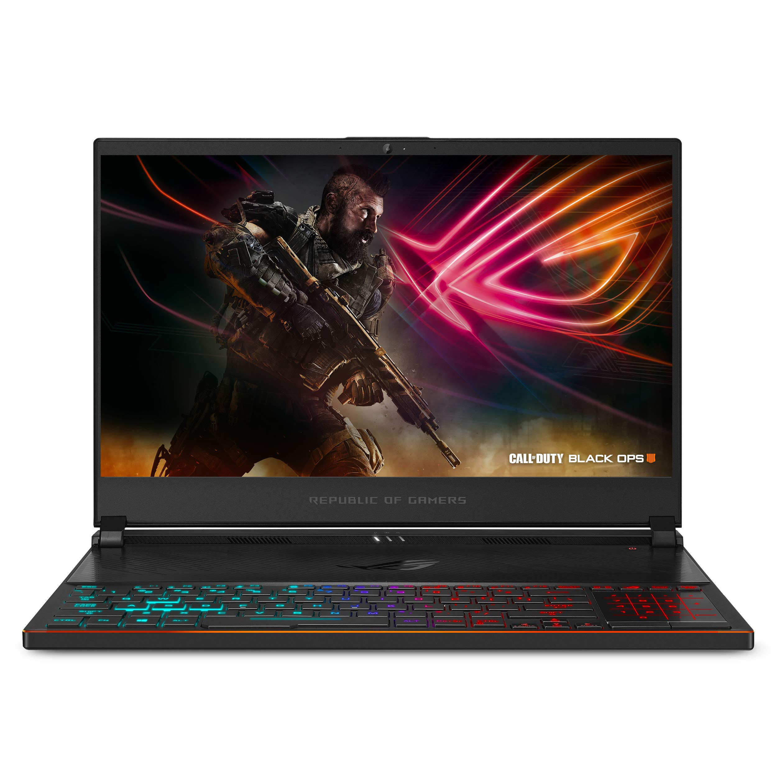 "ASUS ROG Zephyrus S Ultra Slim Gaming PC Laptop, 15.6"" 144Hz IPS-Type, Intel i7-8750H Processor, GeForce GTX 1070, 16GB…"
