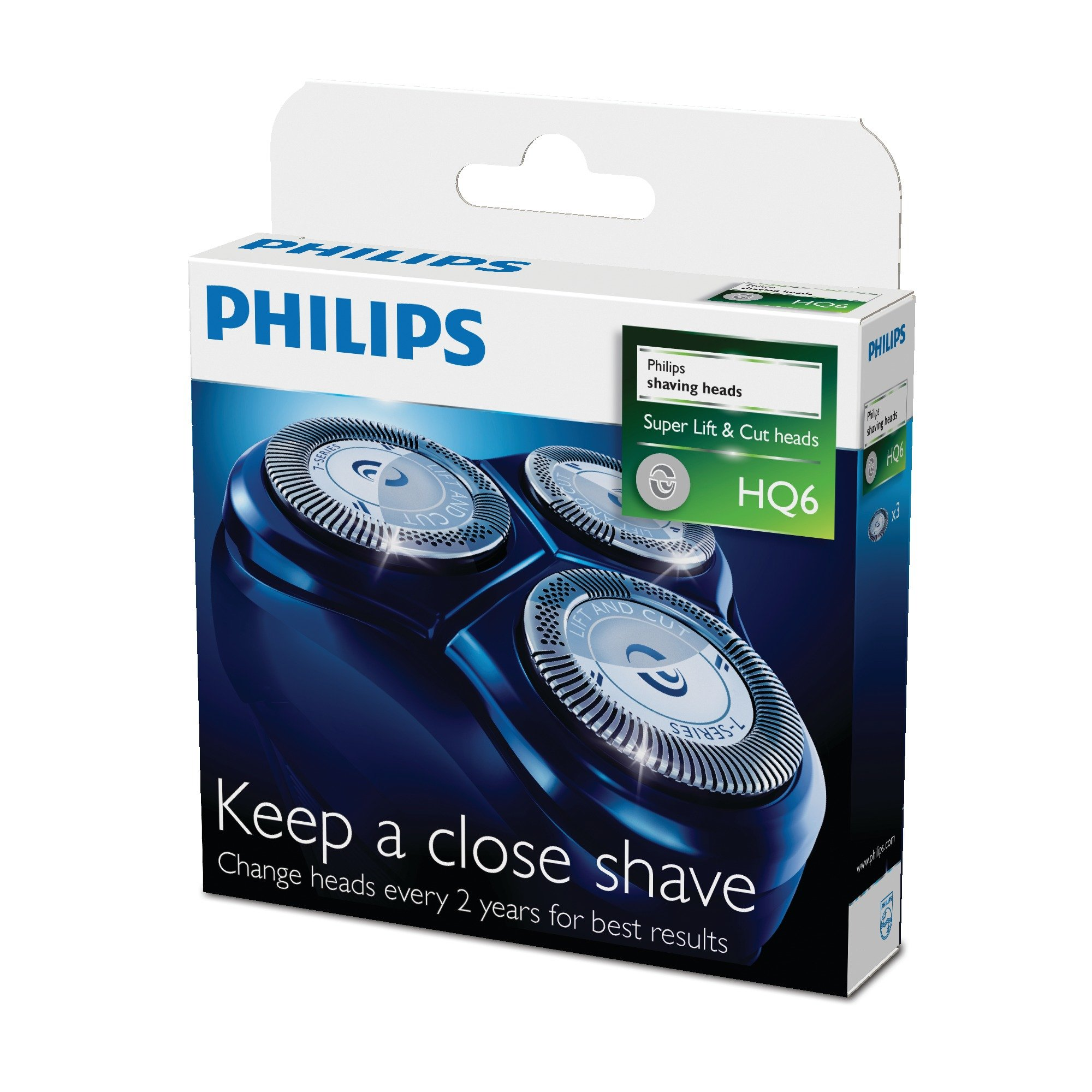 Philips Hq6/50 Replacement Shaving Heads Pack Of 3
