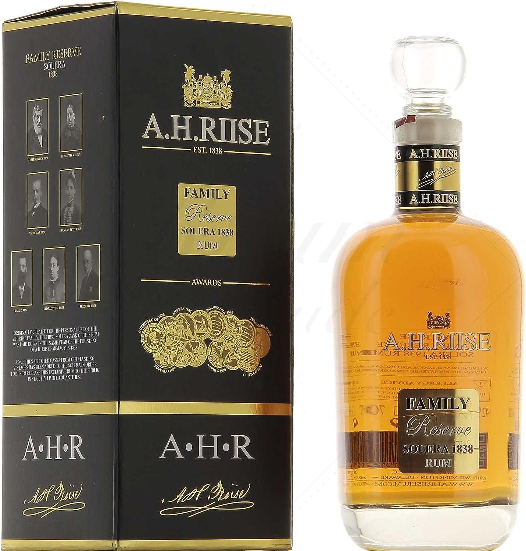 AH Riise Family Reserva solera 1838 25 años Rum (1 x 0,7 l)
